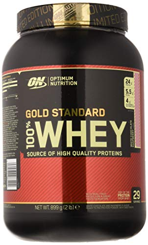 Optimum Nutrition Gold Standard 100% Whey Proteína en Polvo, Extremo Chocolate con leche - 908 g