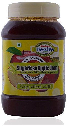 Dezire Natural Natural Sugar Free Apple Jam 400 Grams