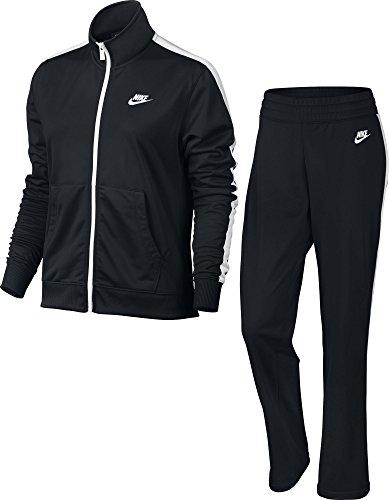 Nike Damen Sportswear Trainingsanzug, Black/White/Black/White, M
