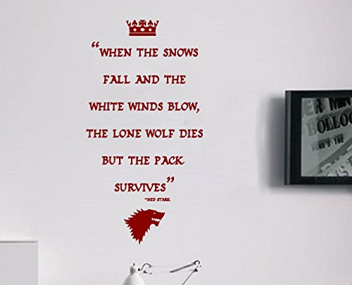 Juego Tronos Ned Stark Wolves Winterfell