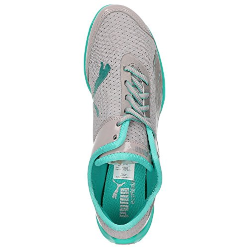 Puma  304579-04, Low-top femme Gris - Opal Grey / Atlantis