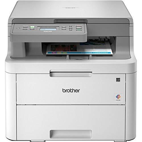 Brother DCP-L3510CDW Imprimante multifonctions 3 en 1 Laser | couleur|silencieuse 45db | Mémoire 512Mo | impression...