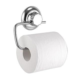 MaxHold Saugschraube Toilettenpapierhalter,Befestigen ohne bohren - Edelstahl rostet nicht - Küchen & Badezimmer Aufbewahrung