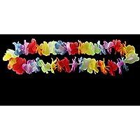 - Whyyudan Animé et Mode Guirlande hawaïenne Guirlande Festive Festive Festive Fleur Bague de Cou_Colorful 313928