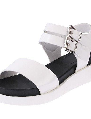 LFNLYX Scarpe Donna-Sandali / Ballerine / Sneakers alla moda-Matrimonio / Ufficio e lavoro / Formale / Casual / Sportivo / Serata e festa-Zeppe Black