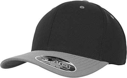 Genial Flex Fit Unisex Arch Snapback Cap Clothes, Shoes & Accessories Grey/black One Size