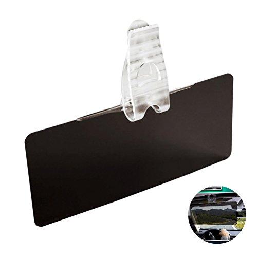 WINOMO Car Anti-Glare Tintado Parabrisas Extender - Anti-Glare Sun Rayos UV Block Visor Extender para cualquier coche de camiones o RV