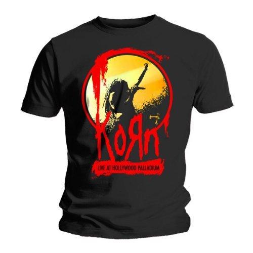 T Shirt Dei Korn Palco (Nero) - Small