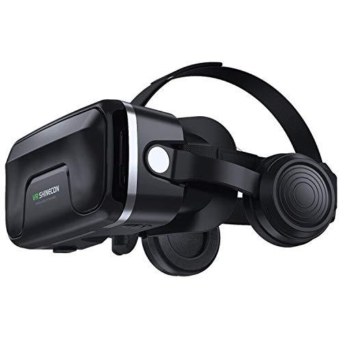 Occhiali Virtuali 3D Compatibile con tutti gli Smartphone come Samsung, iph, Android, Huawei , da 4,7 a 6,0 Pollici (VR05)