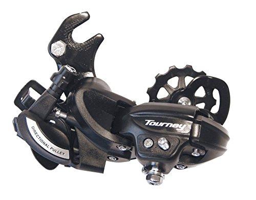 Shimano Schaltwerk \'Tourney\' RD-TY500, 6/7- fach, mit Adapter, langer Käfig, schwarz (1 Stück)