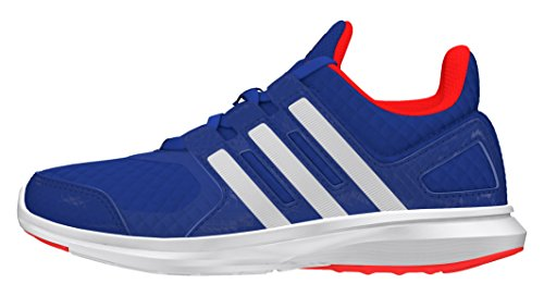 adidas Unisex-Kinder Hyperfast 2.0 K Laufschuhe, Blau (Blau/Weiß/Rot), 38 2/3 EU