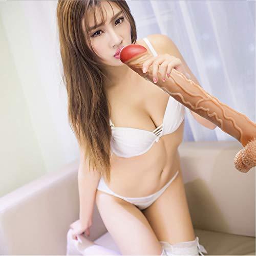 Masajeador 16.14 en Perfecto para Hombres y Mujeres, Mujeres Privadas (16.14 Pulgadas X 2.17 Pulgadas) (Color : Flesh)