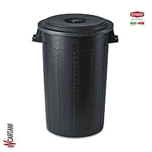 Stefanplast bidone immondizia con coperchio plastica for Contenitori immondizia ikea
