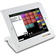 armourdog® Secure POS Kiosk con base giratoria para Tablet y el Pro de 9,7IPAD AIR 1/2en blanco