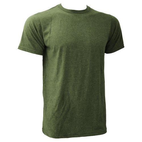 Anvil - Maglietta 100% Cotone - Uomo Erica verde