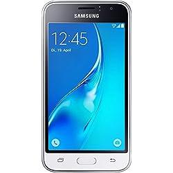 """Samsung Galaxy J1 (2016) SM-J120F 4.5"""" Single SIM 4G 1GB 8GB 2050mAh White - Smartphones (11.4 cm (4.5""""), 8 GB, 5 MP, Android, 5.1.1, White)"""
