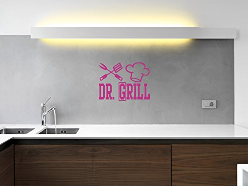 Comedy Wall Art DR. Grill - Pink - ca. 80 x 60 cm