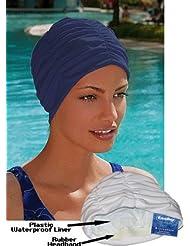 Fashy Bonnet de bain doublé en polyester pour femme