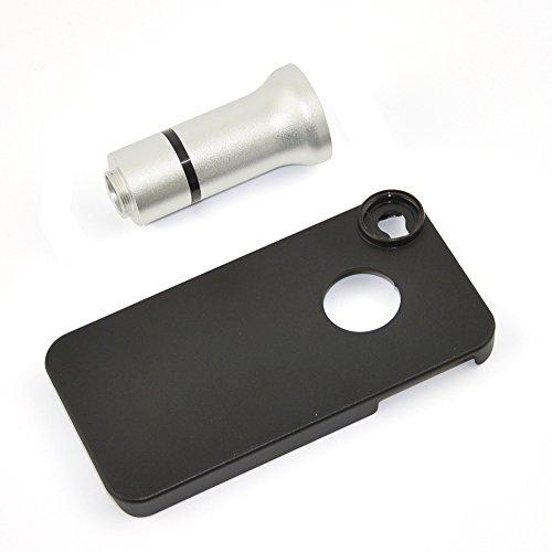 Apexel Mikroskop-Aufsatz für Handys, 50cm Brennweite, Aluminium Für iPhone 4 Flower & Insects...