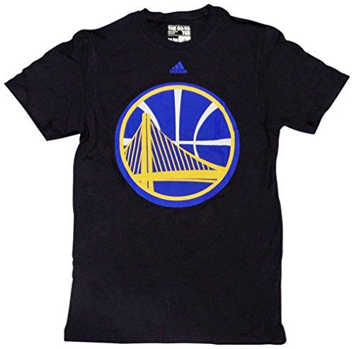 Golden State Warriors schwarz Oversized Logo T-Shirt, Herren, schwarz