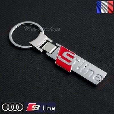 portachiavi S Line Sline per Audi A3 A4 A5 A6 A7 A8 Q3 Q5 Q7