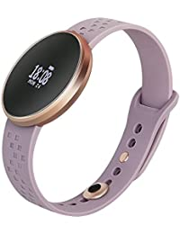 Smart Watch Sport Fitness Tracker With Heart Rate Monitoring Pedometer Calorie Sleep Tracking-Purple