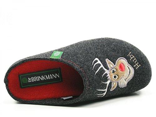 Dr. Brinkmann 320483 Pantofole Donna Grau