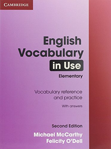 English Vocabulary in Use 2nd Elementary with Answers