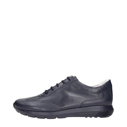 Soldini 19863-P-S98 Sneakers Uomo Pelle Blue Blue 46