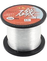 Transparente Carrete 0.45mm 500M 16,4 kg 16,4 kg Aparejo De Pesca Con Caña Sedal Cuerda