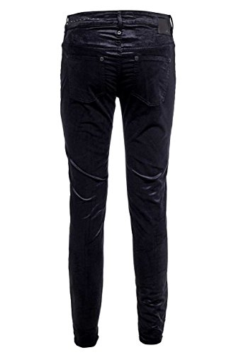 Drykorn Jeans Skinny HIGH RISE-ANKLE LOW REMOTE, donna Nero