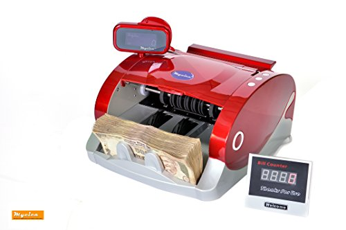 Mycica Currency Counting Machine with Fake Note Detector - Mycica 2900