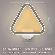 Lilamins Camera da letto,soggiorno,Studyroom Ledwall lampada Lampthattwo-Color comodino Lampada da parete