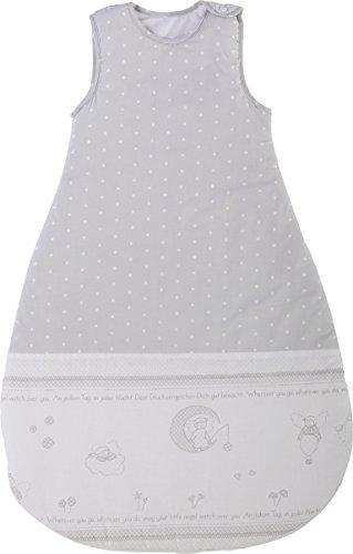 roba Schlafsack, 90cm, Babyschlafsack ganzjahres/ganzjährig, aus atmungsaktiver Baumwolle, Baby- und Kleinkindschlafsack unisex, Kollektion \'Glücksengel\'