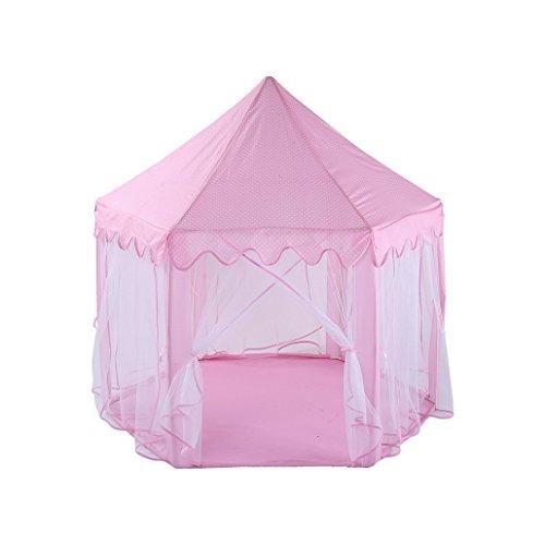 Principessa Castello Tenda Gioco Portatile Tenda Principessa Playhouse Bambini Tende, Castello Playhouse, Gioco Tenda, Grandi Regali Di Natale Per I Bambini Interni Ed Esterni Uso