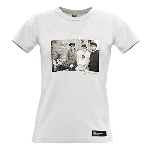 Beastie Boys (2) Damen T-Shirt Square. - Weiß/L