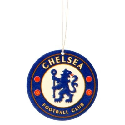 Offizielles Chelsea FC-Wappen Auto-Lufterfrischer versiegelt -