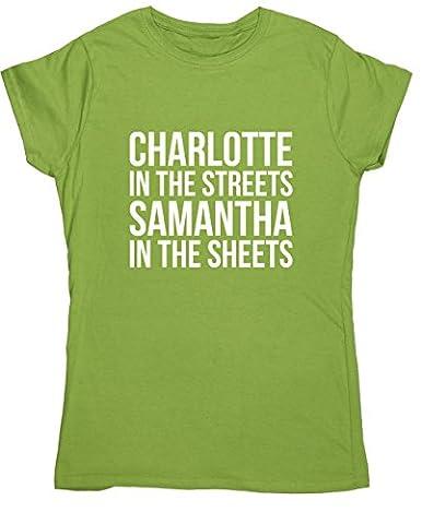 HippoWarehouse Damen T-Shirt X-Large Gr. Large, kiwi