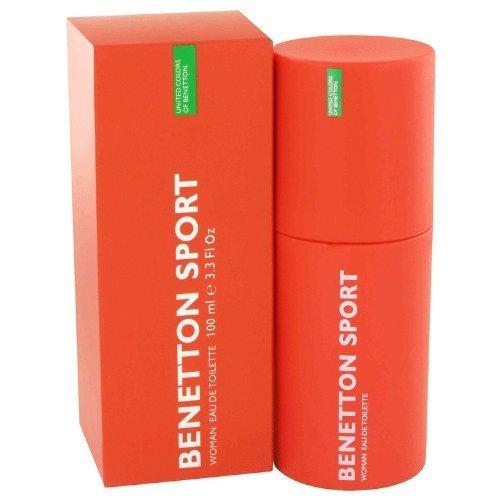 BENETTON SPORT by Benetton Eau De Toilette Spray 3.3 oz by Benetton -
