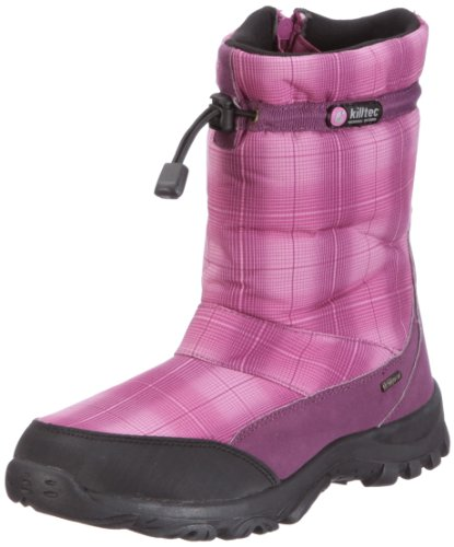 Killtec Misaki jr 19930-000, Bottes mixte enfant Rose (rosa/dunkelorchidee / Hellorchid)