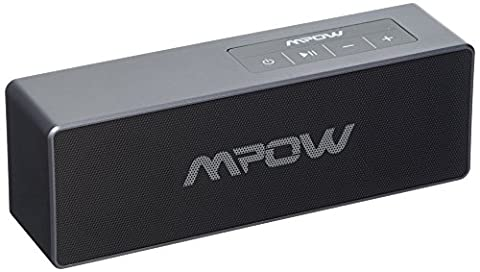 Mpow Portable Bluetooth Speaker, (Latest Bluetooth 4.1, 20W Output, Enhanced Bass) Wireless Speaker with Dual 10W Drivers, HD Audio, 3.5mm Audio Port, Built-in Microphone for iPhone, iPod, iPad, Samsung, Echo, LG