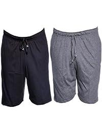 VIMAL JONNEY Cotton Blended Shorts for Men-D11-ANTRA-BLK-P