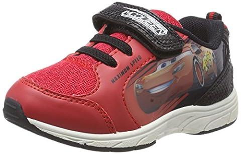 Cars Jungen CR000170 Sneaker, Rot (Red/Red/Black/White), 24 EU