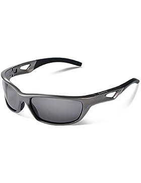 Duduma Polarisierter Sport Herren Sonnenbrille für Ski Fahren Golf Laufen Radsport mit Mode-Design Voll Rimmed...