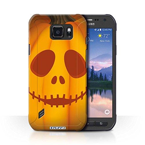 le für Samsung Galaxy S6 Active/G890 / Geist Muster / Halloween Kürbis Kollektion (Geist Halloween Online)