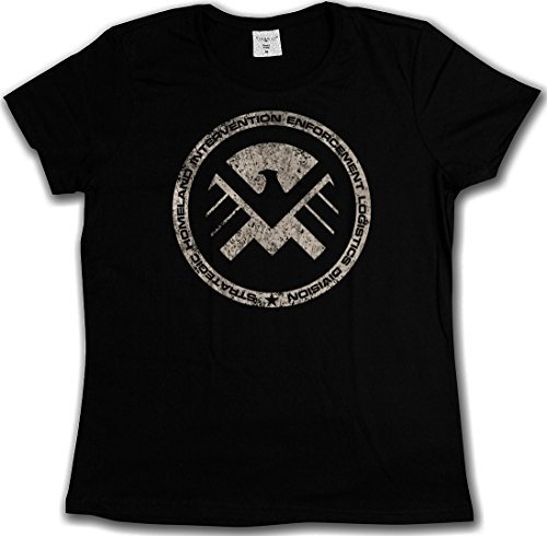 S.H.I.E.L.D. VINTAGE LOGO III T-SHIRT - Nick Marvel SHIELD Fury Hydra T-Shirt Größen S - 5XL (XXXXXL) (Shield Logo Shirt)