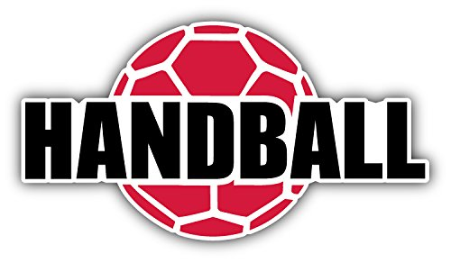 Handball Label Hochwertigen Auto-Autoaufkleber 15 x 8 cm
