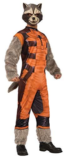 Rubie's Rocket-Waschbär Deluxe Kostüm für - Rocket Raccoon Kostüm