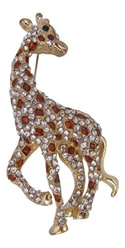 (Brosche Boutique Swarovski Elements Brosche Giraffe)