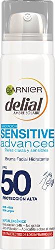 Garnier Delial Bruma Facial Hidratante IP50 Sensitive Advanced - 75 ml